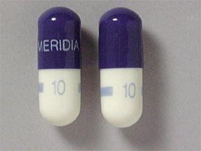 Generic Reductil (Meridia) 10mg