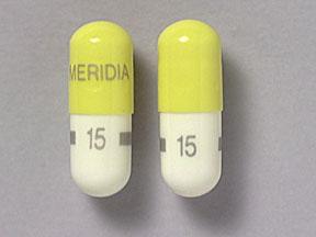 Generic Reductil (Meridia) 15mg